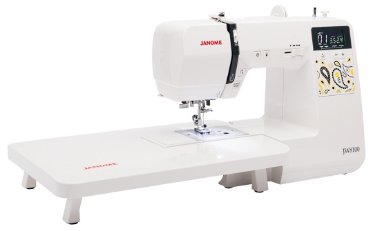 Janome JW8100 with Extension Table