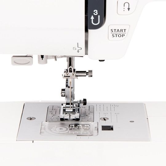 Janome JW8100 Sewing Area