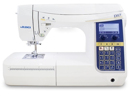 Juki HZL DX7 sewing machine