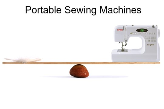 Portable sewinng machine