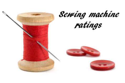 Sewing Machine Ratings Table